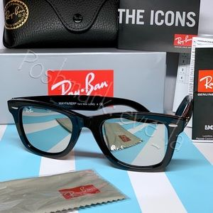 MIRROR RAY-BAN Original Wayfarer BLACK frame